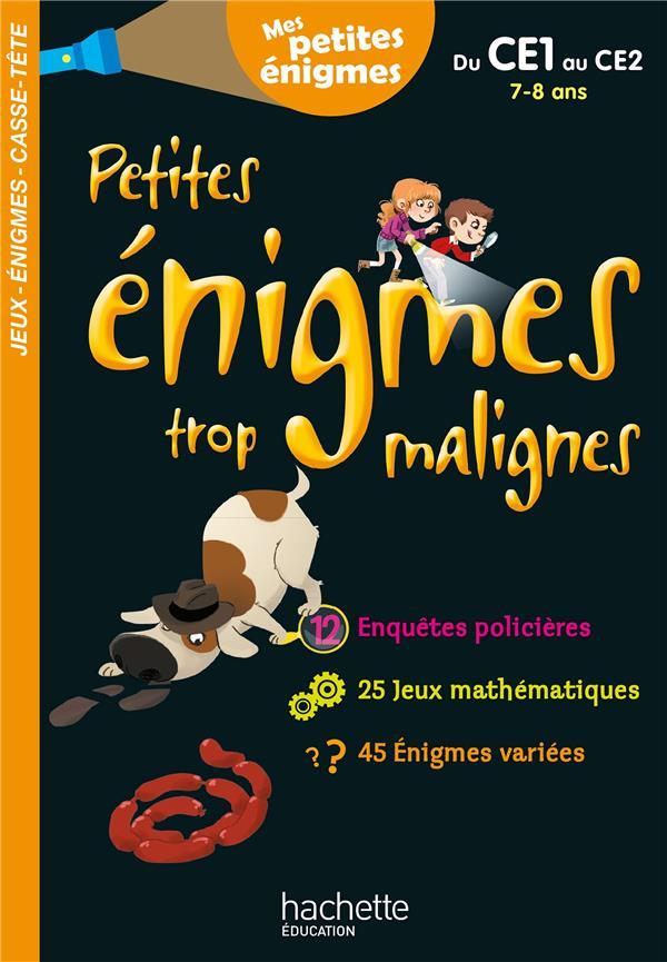 PETITES ENIGMES TROP MALIGNES  -  DU CE1 AU CE2 BERGER/LECREUX NC