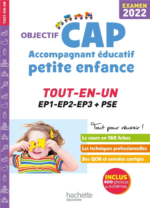 OBJECTIF CAP  -  ACCOMPAGNANT EDUCATIF PETITE ENFANCE  -  TOUT-EN-UN (EDITION 2022) LUCIANI  HACHETTE