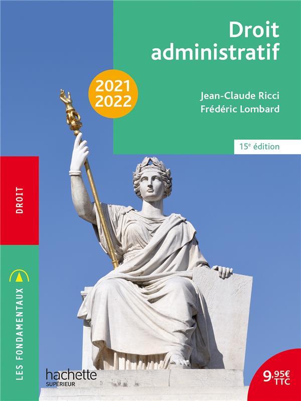 DROIT ADMINISTRATIF (EDITION 20212022) RICCI, JEAN-CLAUDE  HACHETTE