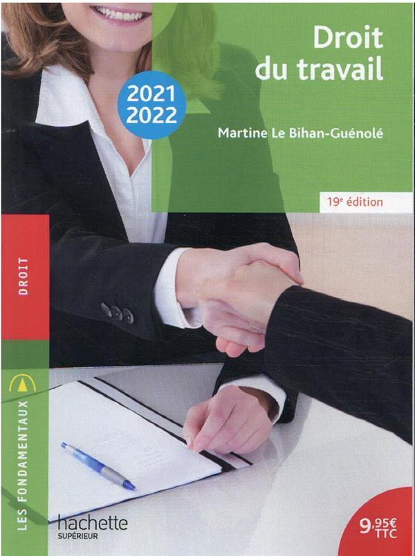 FONDAMENTAUX  - DROIT DU TRAVAIL 2021-2022