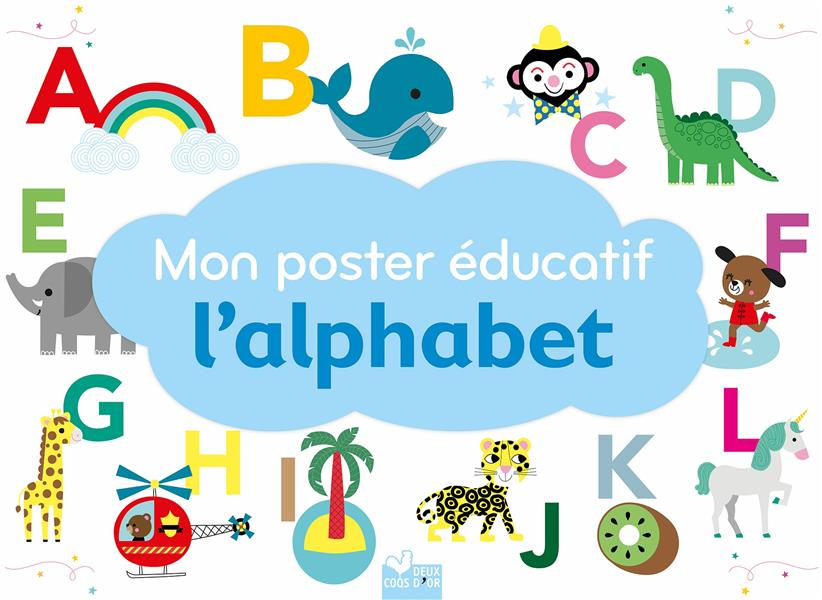 MON POSTER EDUCATIF L'ALPHABET GWE NC