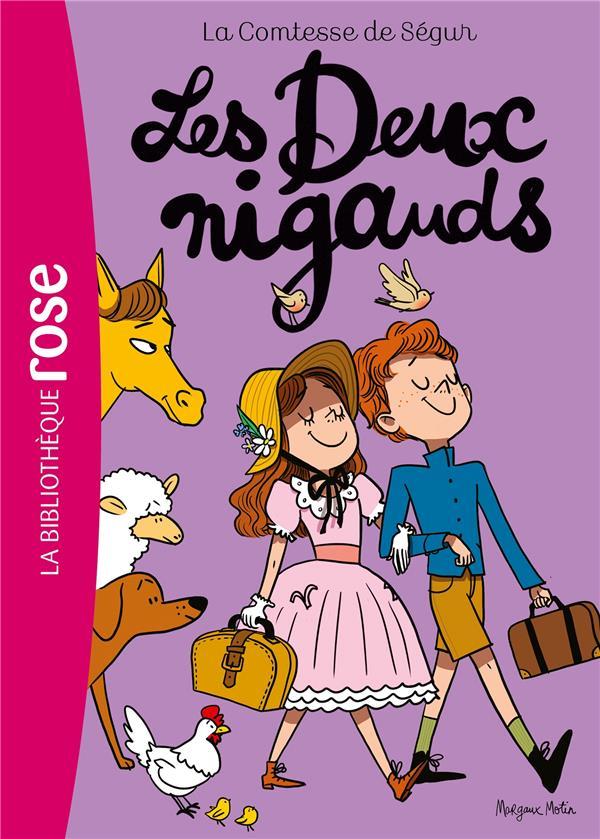 LA COMTESSE DE SEGUR - T07 - LA COMTESSE DE SEGUR 07 NED - LES DEUX NIGAUDS COMTESSE DE SEGUR  HACHETTE