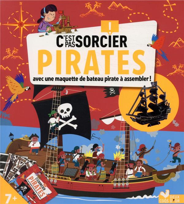 C-EST PAS SORCIER PIRATES - BO XXX HACHETTE