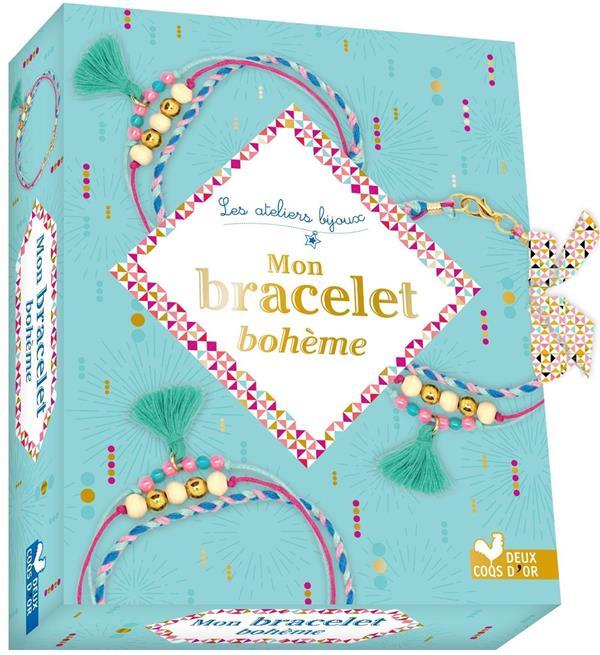 MON BRACELET BOHEME  -  MINI COFFRET AVEC ACCESSOIRES