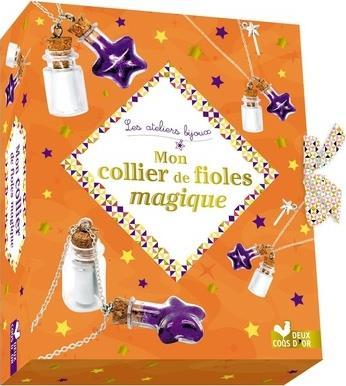 MON COLLIER DE FIOLES MAGIQUES
