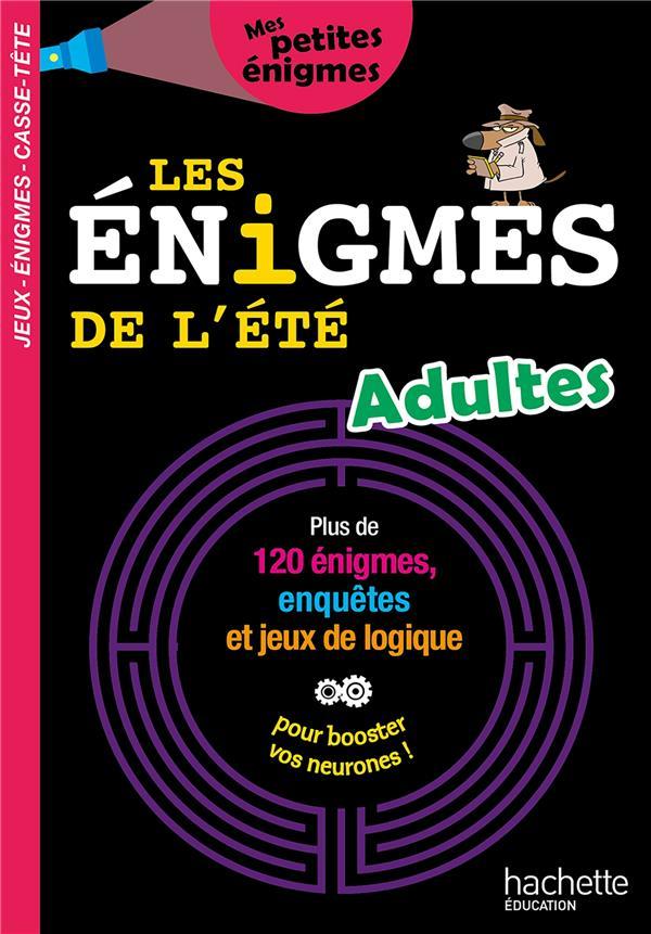 LES ENIGMES DE L'ETE ADULTES ROUX DE LUZE/LECREUX HACHETTE