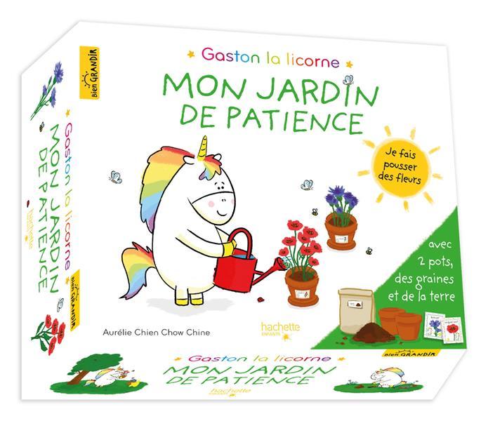 GASTON LA LICORNE  -  LES EMOTIONS DE GASTON  -  MON JARDIN DE PATIENCE