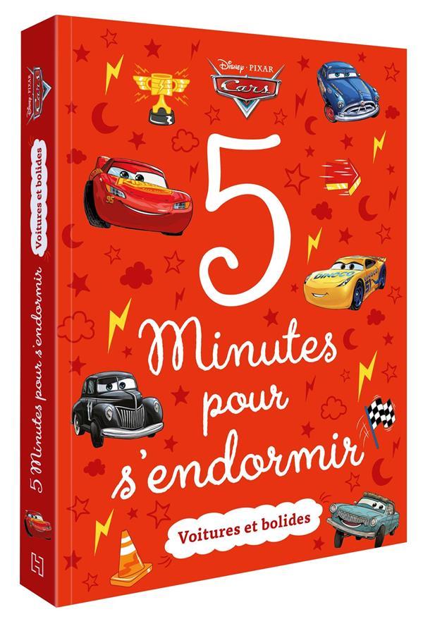 5 MINUTES POUR S'ENDORMIR  -  CARS  -  VOITURES ET BOLIDES XXX HACHETTE