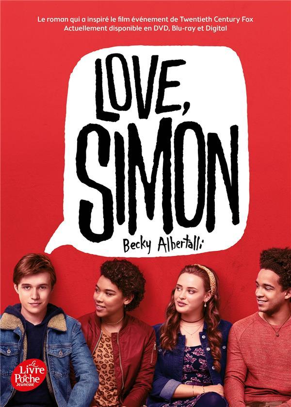 LOVE SIMON  -  TIE-IN (MOI, SIMON, 16 ANS, HOMO SAPIENS) ALBERTALLI, BECKY HACHETTE