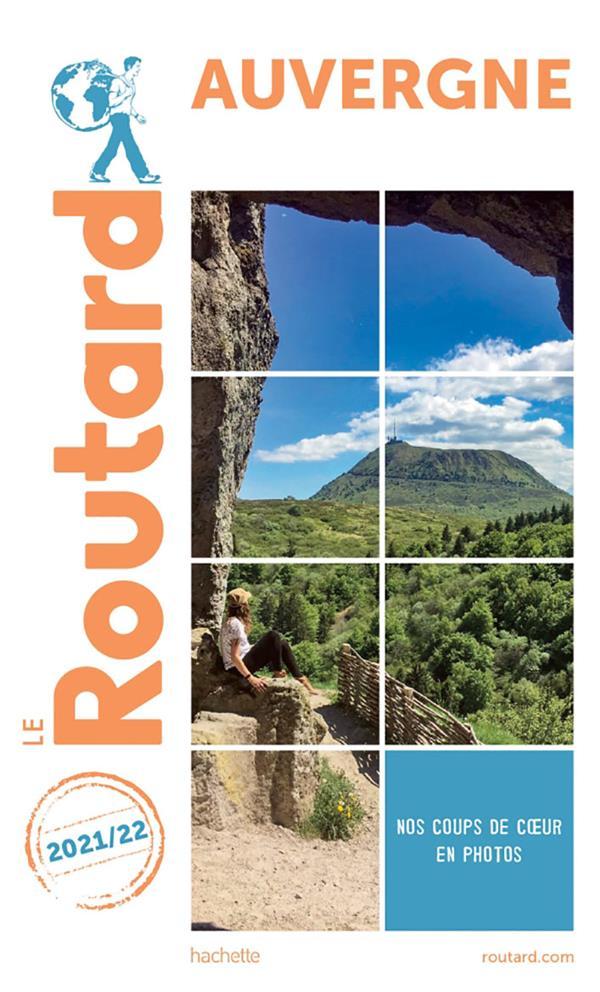 GUIDE DU ROUTARD  -  AUVERGNE (EDITION 20212022)   HACHETTE