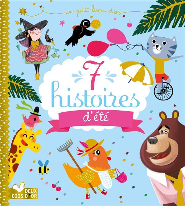 7 HISTOIRES D'ETE COLLECTIF HACHETTE