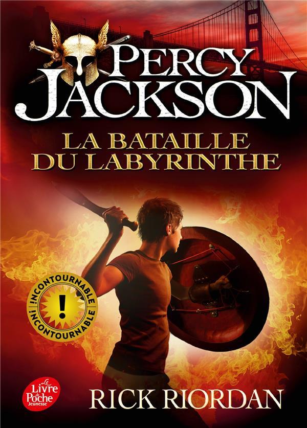 PERCY JACKSON T.4  -  LA BATAILLE DU LABYRINTHE