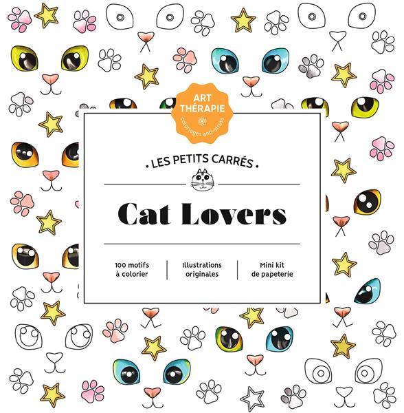 ART-THERAPIE  -  LES PETITS CARRES  -  CAT LOVERS