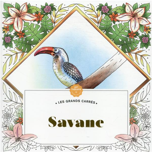 ART-THERAPIE  -  LES GRANDS CARRES : SAVANE AELLEN CAROLINE HACHETTE