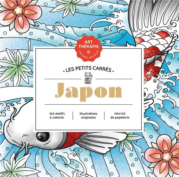 ART-THERAPIE  -  LES PETITS CARRES  -  JAPON PEREZ C A. HACHETTE