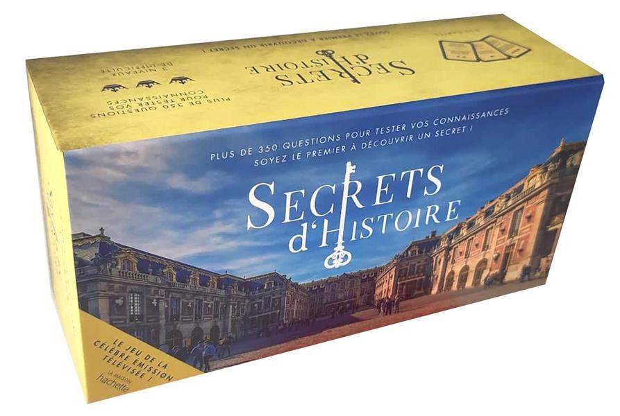 SECRETS D'HISTOIRE, LE JEU : PLUS DE 350 QUESTIONS POUR TESTER VOS CONNAISSANCES  -  SOYEZ LE PREMIER A DECOUVRIR UN SECRET ! LUCIE BECQUET NC