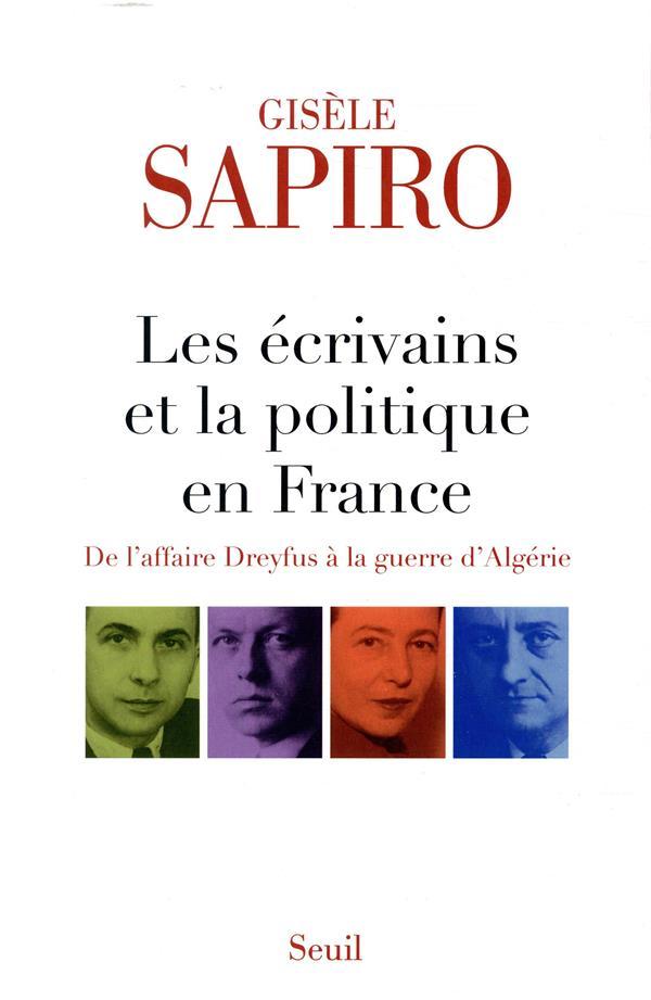 LES ECRIVAINS ET LA POLITIQUE EN FRANCE