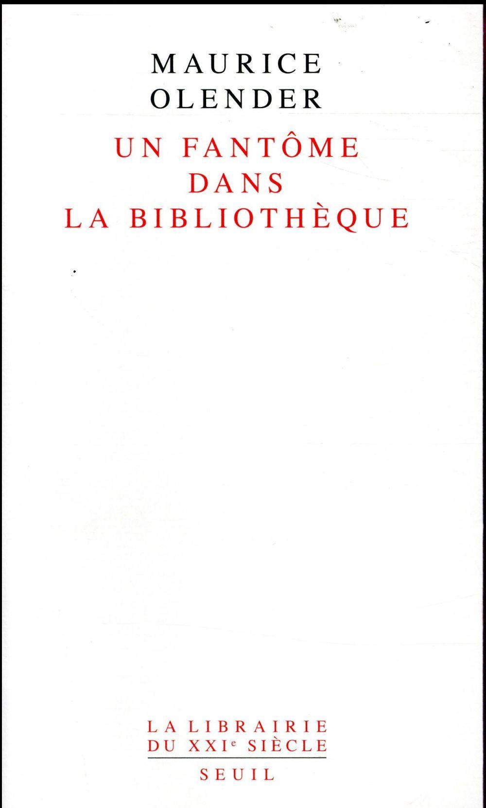 UN FANTOME DANS LA BIBLIOTHEQUE