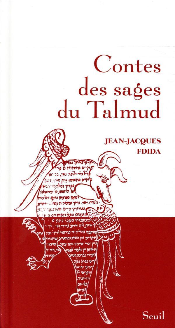 CONTES DES SAGES DU TALMUD FDIDA JEAN-JACQUES SEUIL