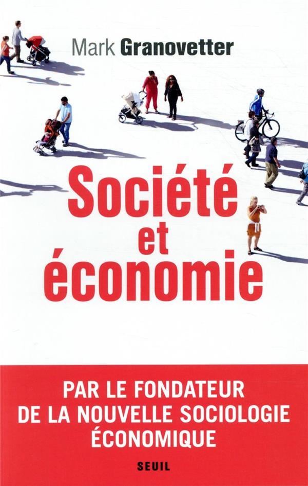 SOCIETE ET ECONOMIE