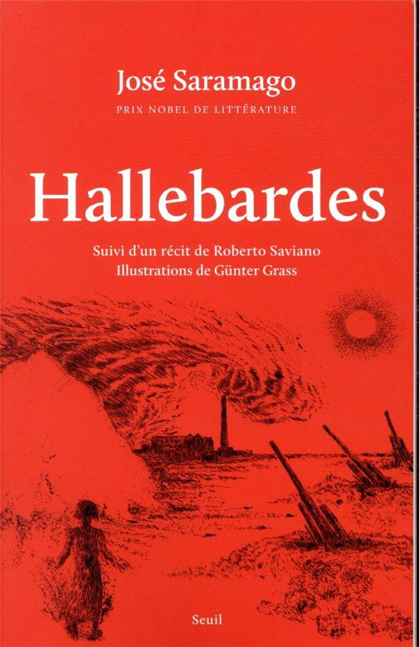 HALLEBARDES  -  SUIVI D'UN RECIT DE ROBERTO SAVIANO  SAVIANO, ROBERTO  SEUIL