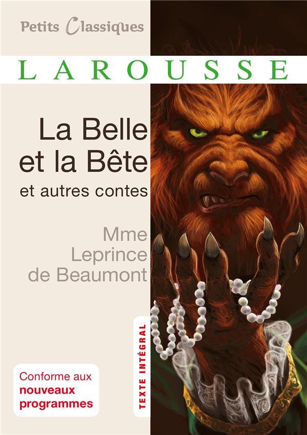 LA BELLE ET LA BETE ET AUTRES CONTES LEPRINCE DE BEAUMONT LAROUSSE