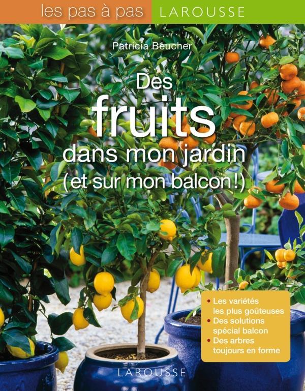 DES FRUITS DANS MON JARDIN ET SUR MON BALCON BEUCHER PATRICIA LAROUSSE