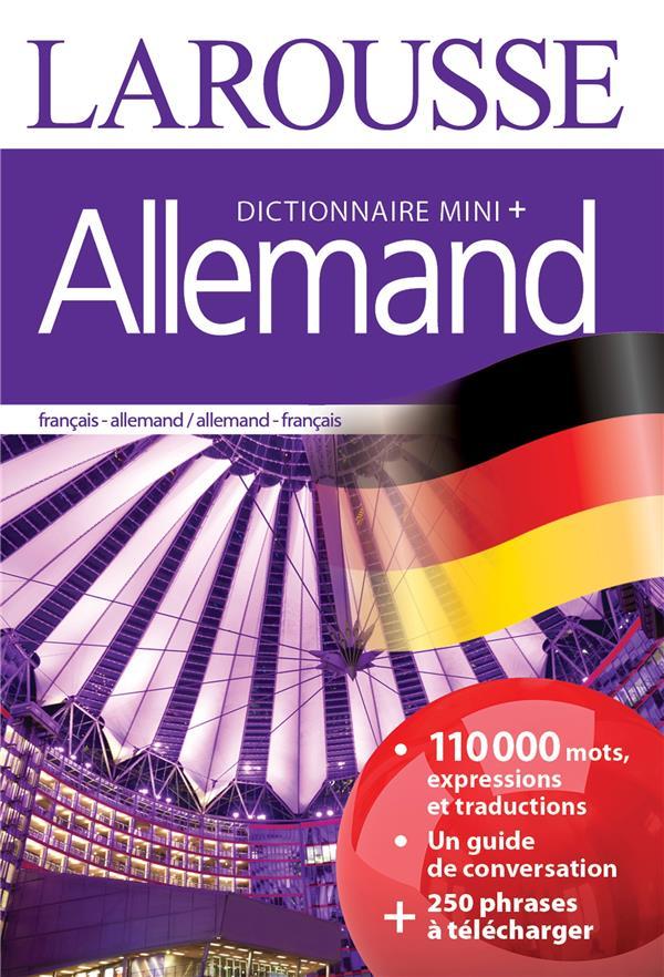 DICTIONNAIRE MINI + ALLEMAND XXX Larousse