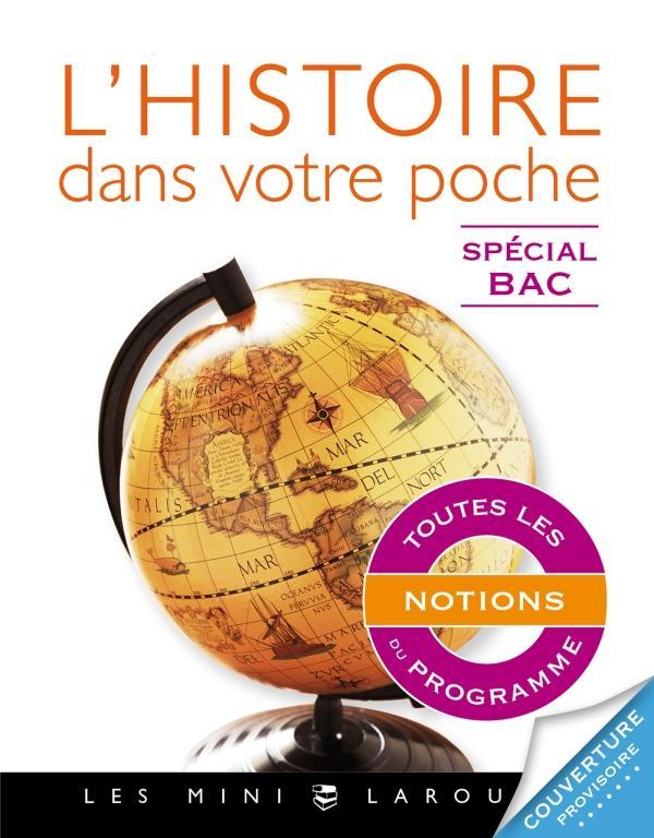L'HISTOIRE DANS VOTRE POCHE  -  SPECIAL BAC BENARD CELINE Larousse