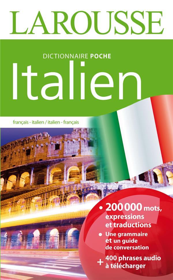 DICTIONNAIRE LAROUSSE POCHE ITALIEN XXX Larousse