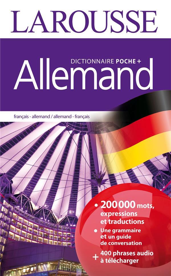 LAROUSSE DE POCHE +  -  ALLEMAND  -  FRANCAIS-ALLEMAND  ALLEMAND-FRANCAIS