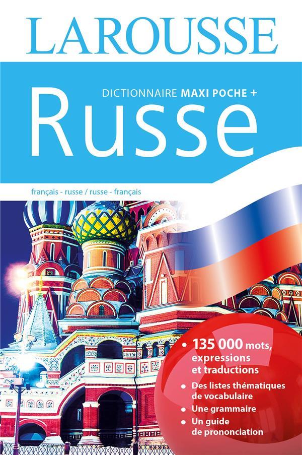 MAXI POCHE PLUS DICTIONNAIRE LAROUSSE  -  FRANCAIS-RUSSE (EDITION 2016)