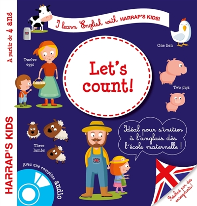 I LEARN ENGLISH WITH HARRAP'S KIDS !     LET'S COUNT !