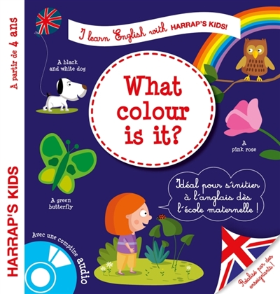 I LEARN ENGLISH WITH HARRAP'S KIDS !     COLORS