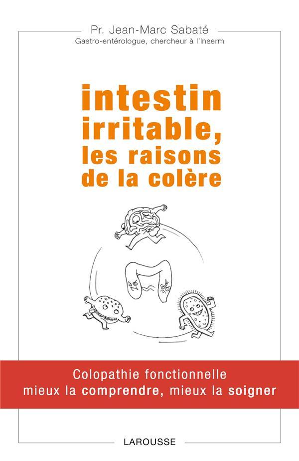 INTESTIN IRRITABLE  -  LES RAISONS DE LA COLERE SABATE JEAN-MARC Larousse