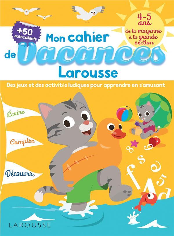 CAHIER DE JEUX DE VACANCES LAR LOT BEATRIX Larousse