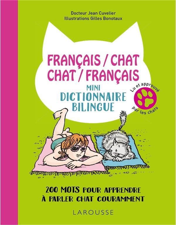 FRANCAISCHAT-CHATFRANCAIS-MINI-DICTIONNAIRE BILINGUE Cuvelier Jean Larousse