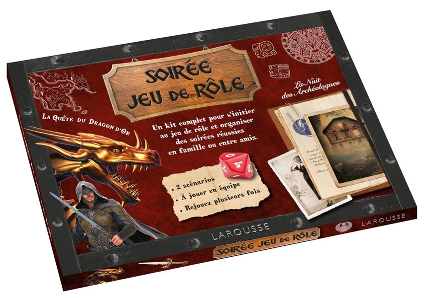 SOIREE JEU DE ROLE - LA QUETE DU DRAGON D'OR YVON FRANCOIS LAROUSSE