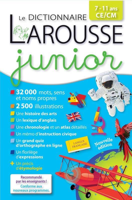 LAROUSSE DICTIONNAIRE JUNIOR 711 ANS XXX LAROUSSE