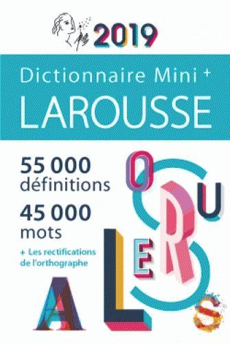 MINI PLUS DICTIONNAIRE DE FRANCAIS 2019 (EDITION 2019)