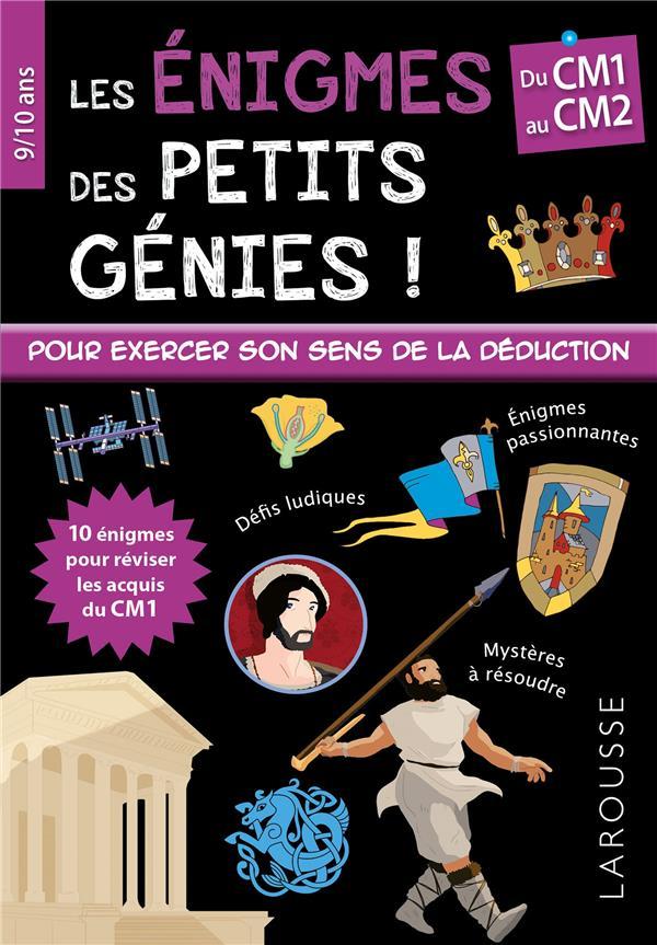 ENIGMES DES PETITS GENIES CM1