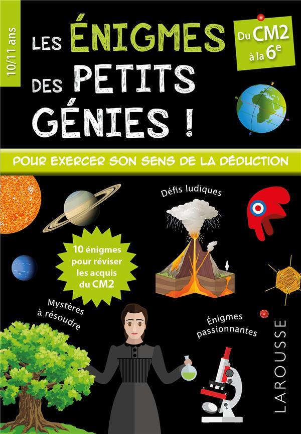 ENIGMES DES PETITS GENIES CM2