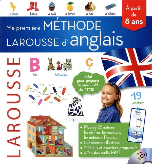 MA PREMIERE METHODE D'ANGLAIS - PRIMAIRE XXX LAROUSSE