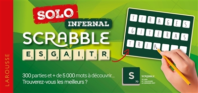 SCRABBLE SOLO INFERNAL XXX LAROUSSE