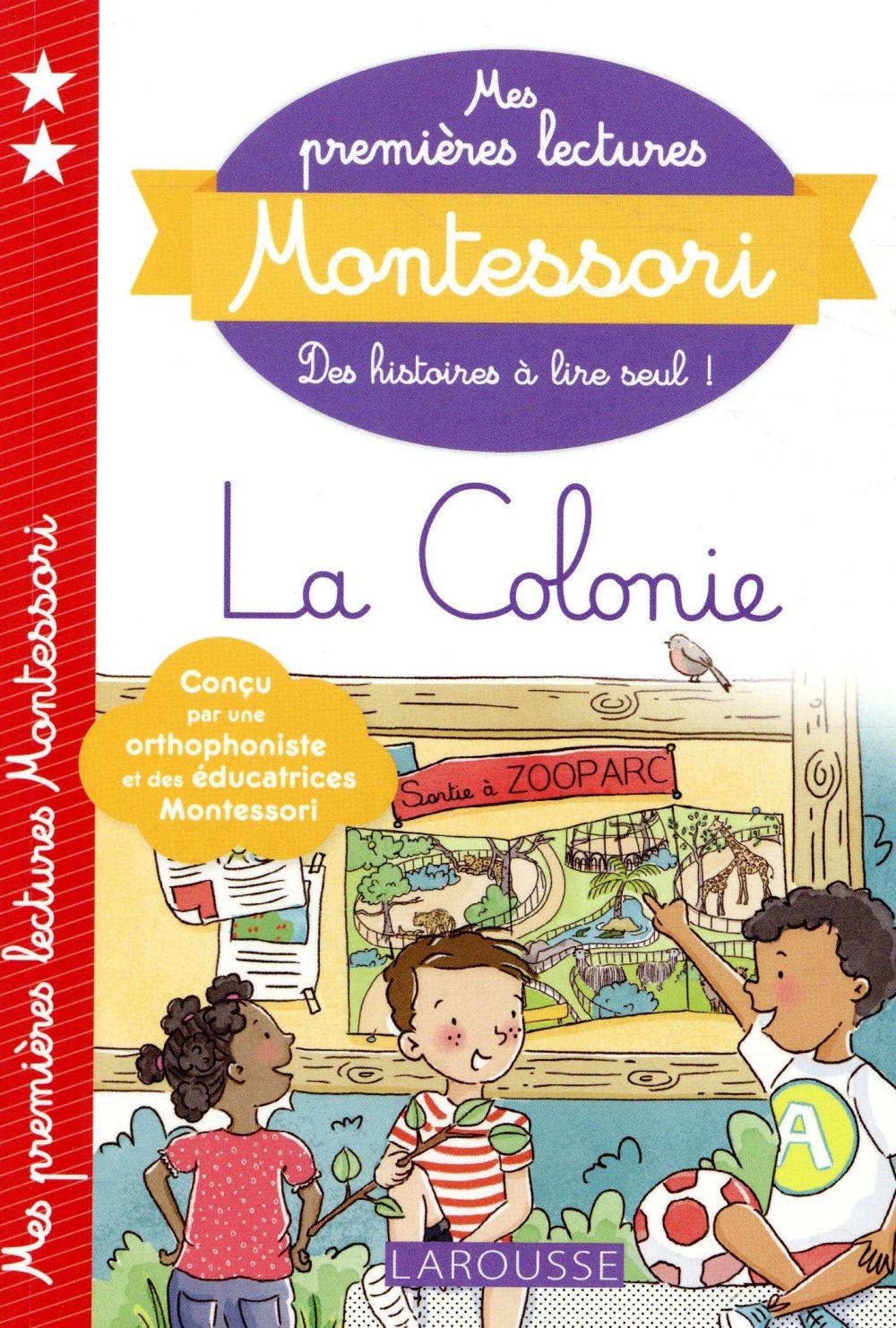 MES PREMIERES LECTURES MONTESSORI  -  LA COLONIE
