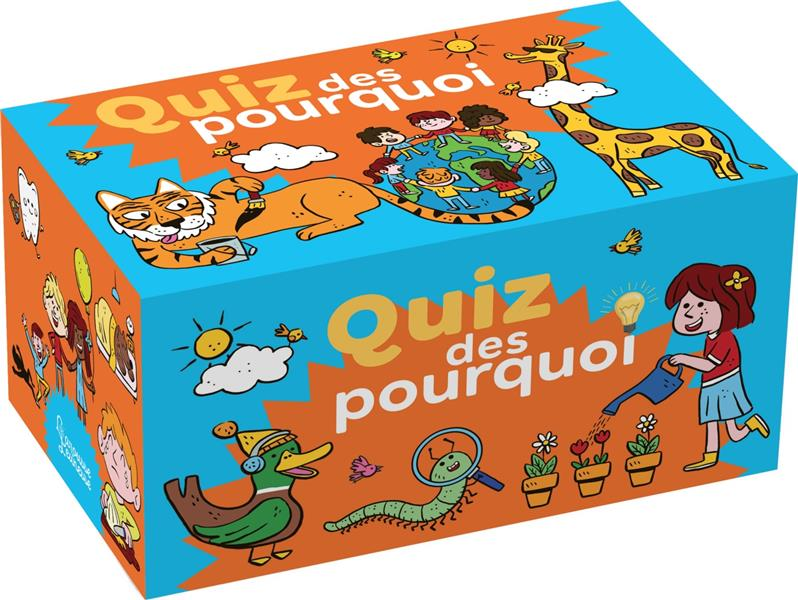 LE QUIZ DES POURQUOI DES 4-7 ANS MARROU/PORTE LAROUSSE