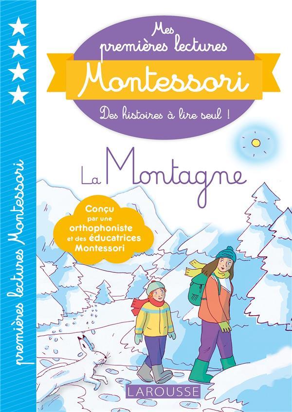MES PREMIERES LECTURES MONTESSORI  -  LA MONTAGNE GALON/NOUGAROLLES LAROUSSE