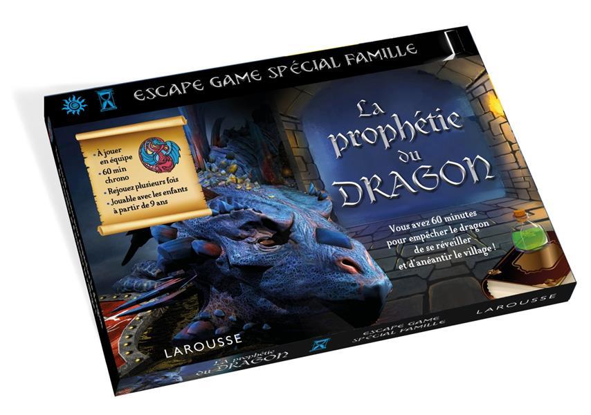 ESCAPE GAME SPECIAL FAMILLE  -  LA PROPHETIE DU DRAGON LEBRUN/AUDRAIN NC