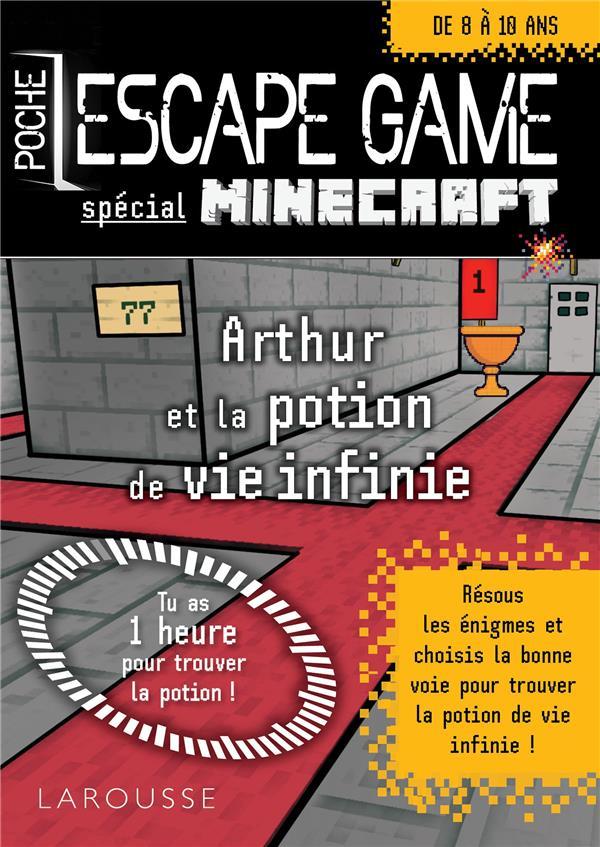 RAFFAITIN VINCENT - ESCAPE GAME DE POCHE SP MINECRAFT - LA POTION DE VIE ETERNELLE