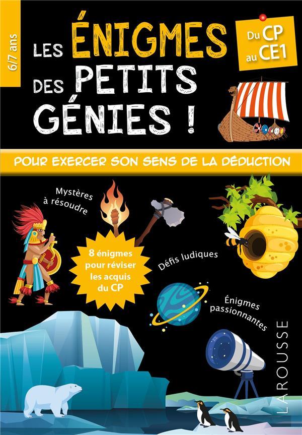 ENIGMES DES PETITS GENIES CP-CE1